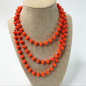 Vintage 1960's Plastic Double Cone Necklace